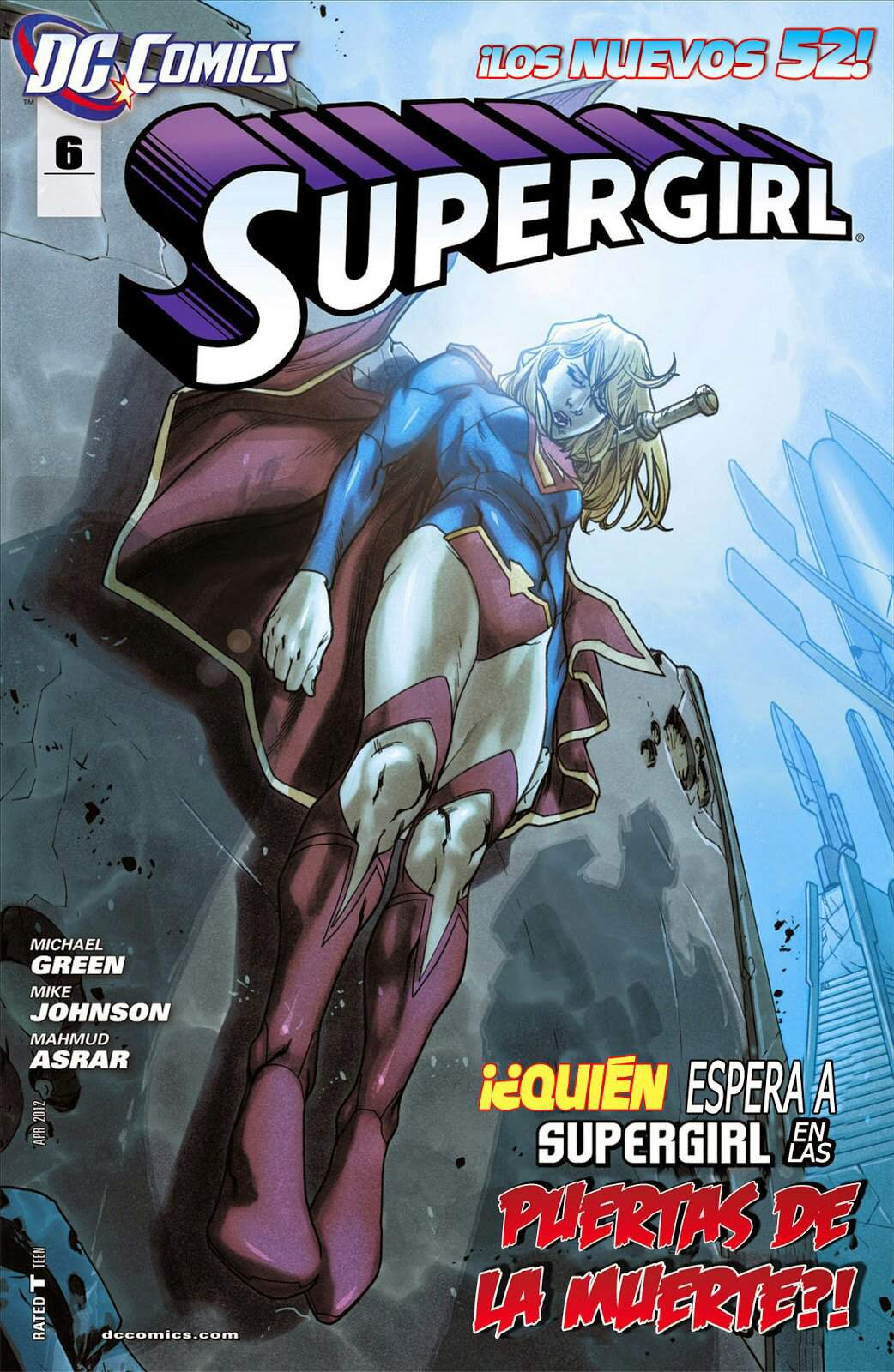 Supergirl #6 - The New 52 | Wiki | Supergirl en Español Amino