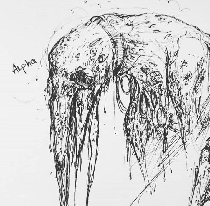 SCP-610 Pen sketches | SCP Foundation Amino