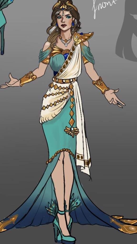 Hera Outfit Redesign Smite Amino