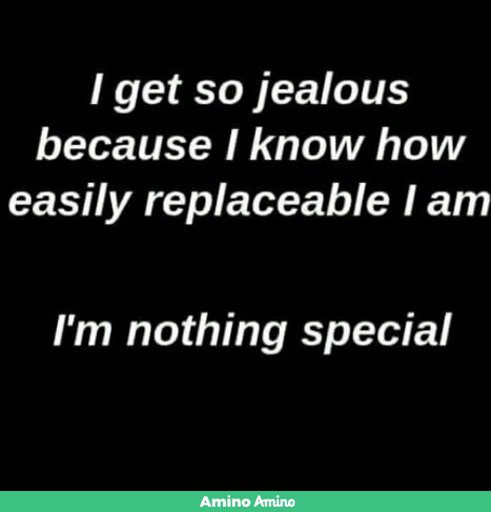 i get jealous so easily