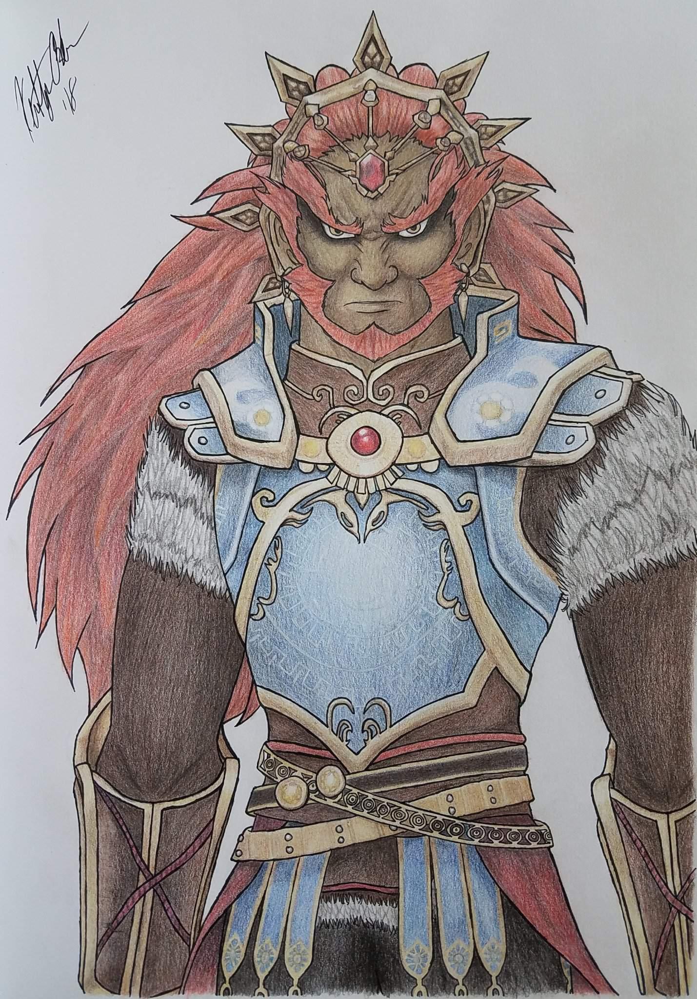 Ganondorf Hyrule Warriors Zelda Amino