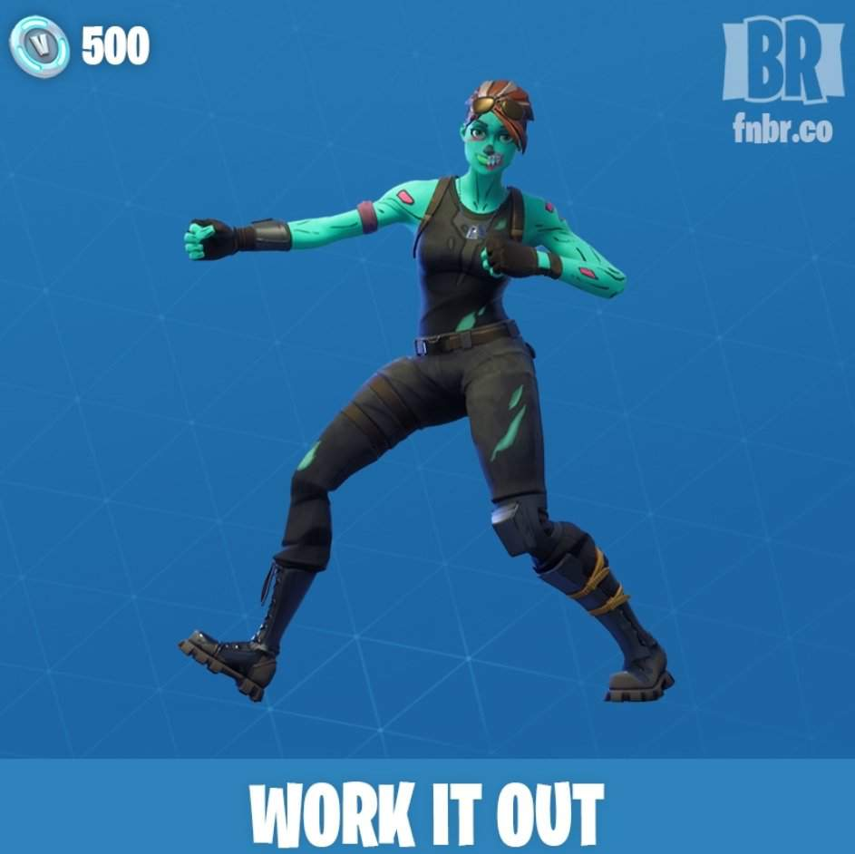 The New Work It Out Emote Is Now In The Shop Fortnite Battle Royale Armory Amino