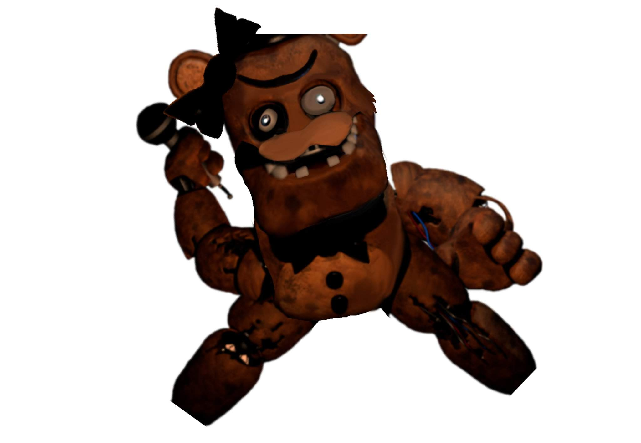 Withered Freddy Has Never Looked Better Five Nights At Freddy S Amino As seeing the old version it was so bad with models so i am gonna remaster all the models and make it better this game is gonna have same gameplay but way so get ready for freddy and friend there back. amino apps