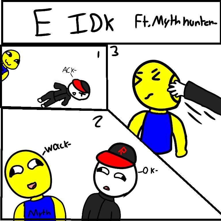 Myth Roblox Amino E First Comic Thing I Ever Made Ft Myth Roblox Amino