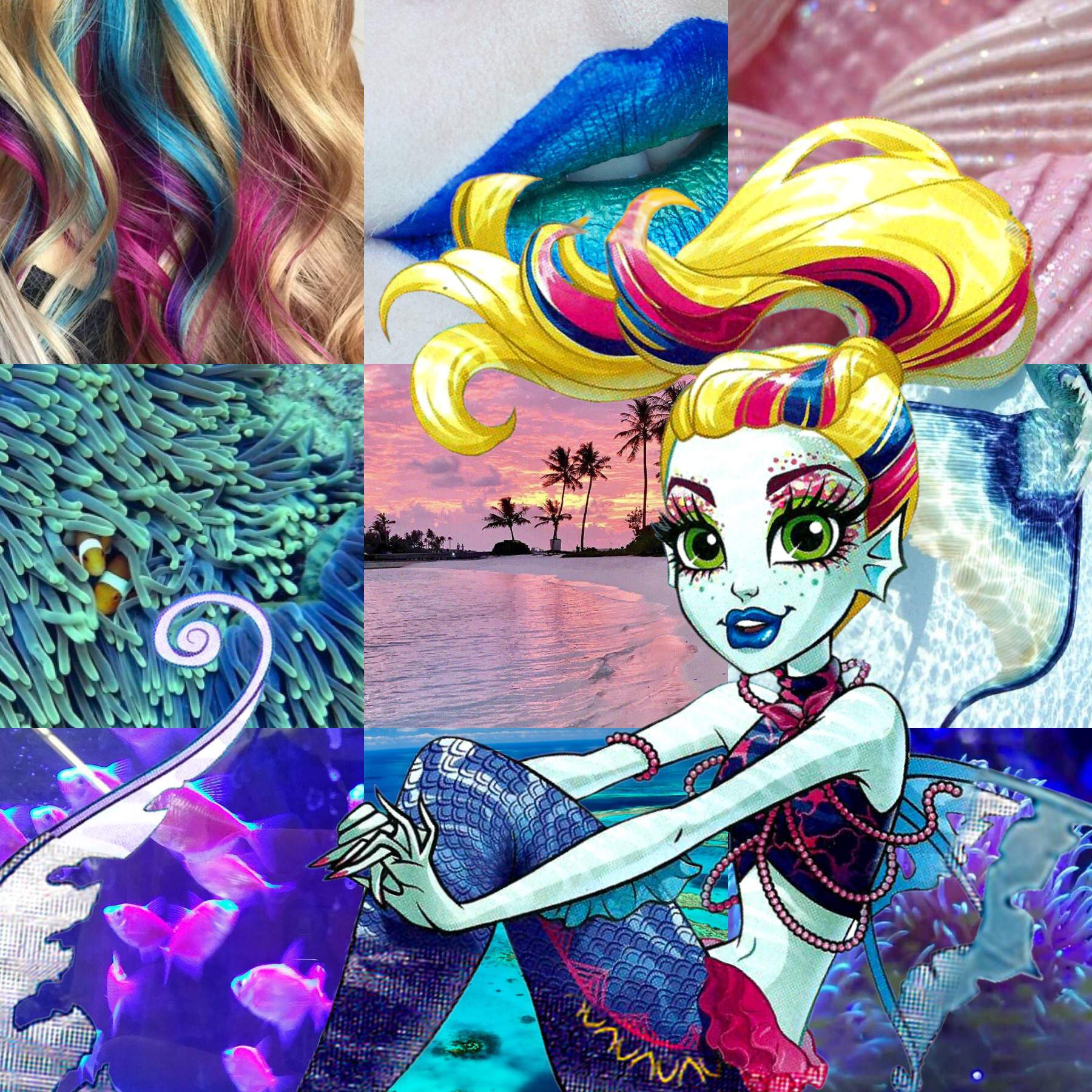 Monster High Mermaid Coloring Pages | Mermaid coloring pages ... | 1800x1800