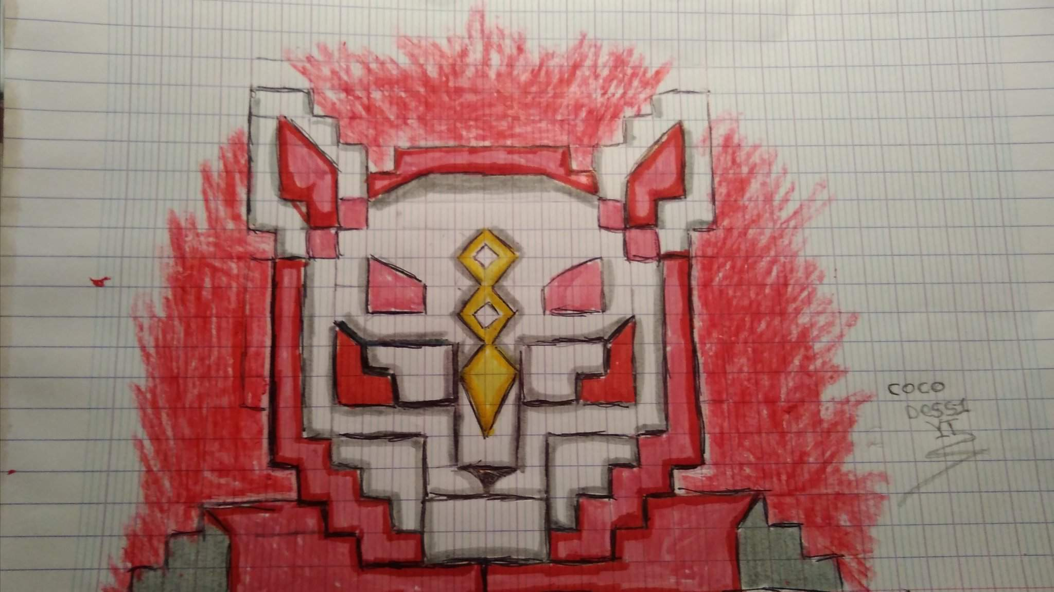 Pixel Art Nomade Fortnite Battle Royale Chadessin Amino