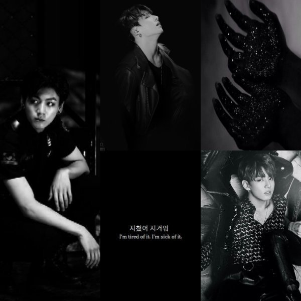 "Jungkook Black Aesthetic Jeon Jungkook Ì""ì•êµ Amino"