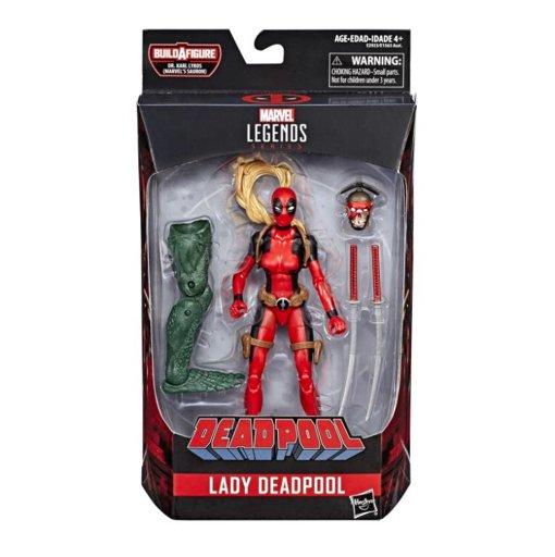 Marvel Legends Lady Deadpool avec headpool Sauron BAF Wave