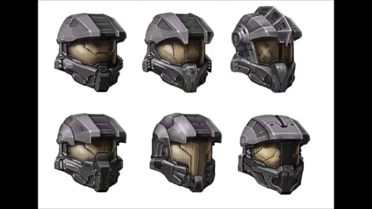Concept Art For Master Chief S Helmet In Halo 4 What The