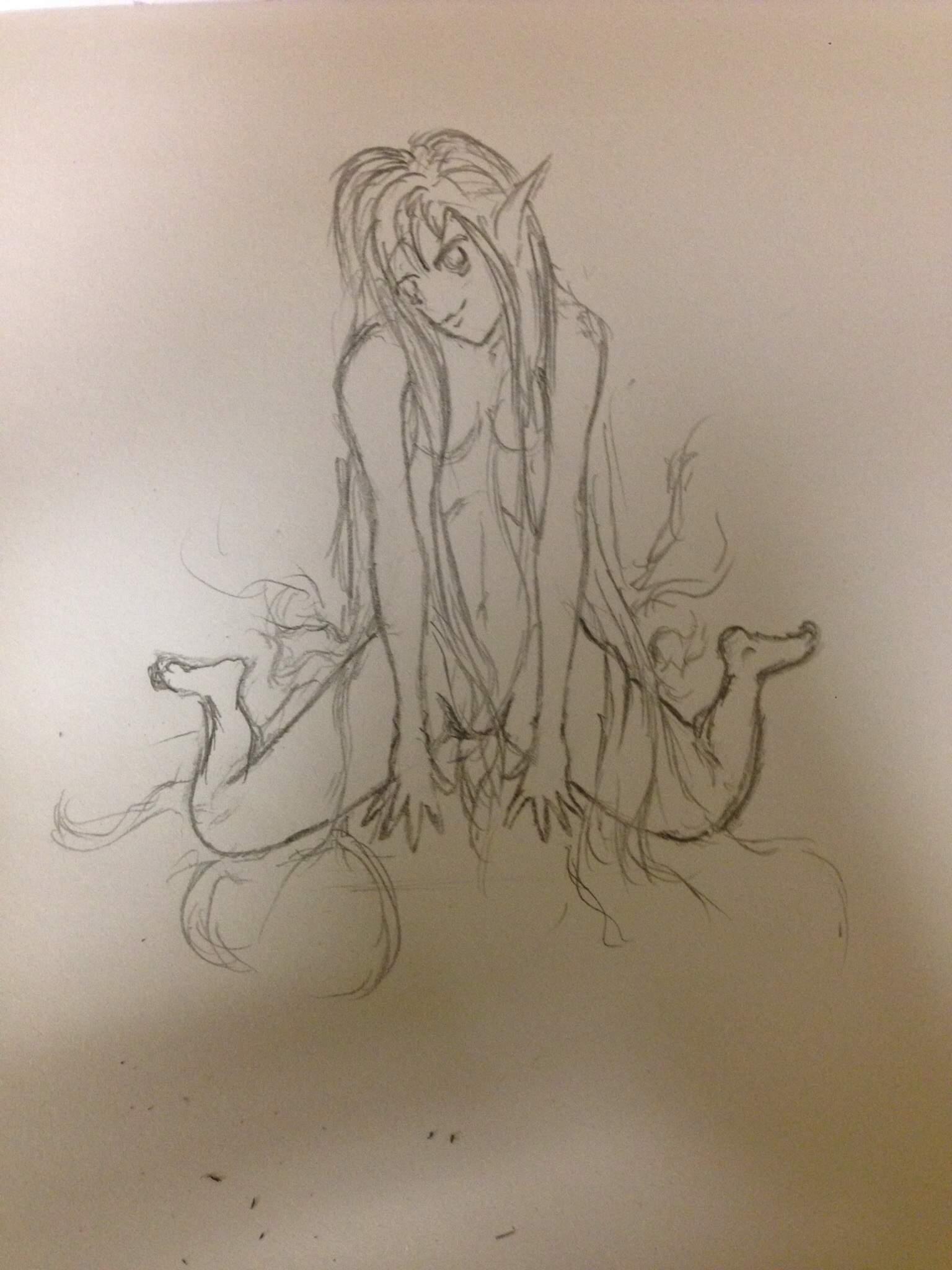 Study Female Body Art Amino