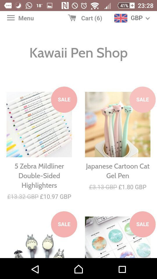 looked stationery sale