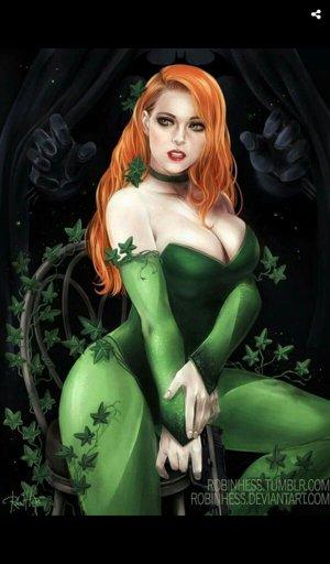 Supergirl Wiki Dc Poison Ivy Amino Amino