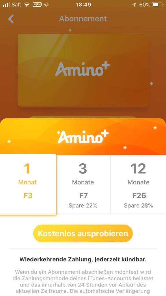 Only on ios rn) You can't buy amino+ with coins anymore