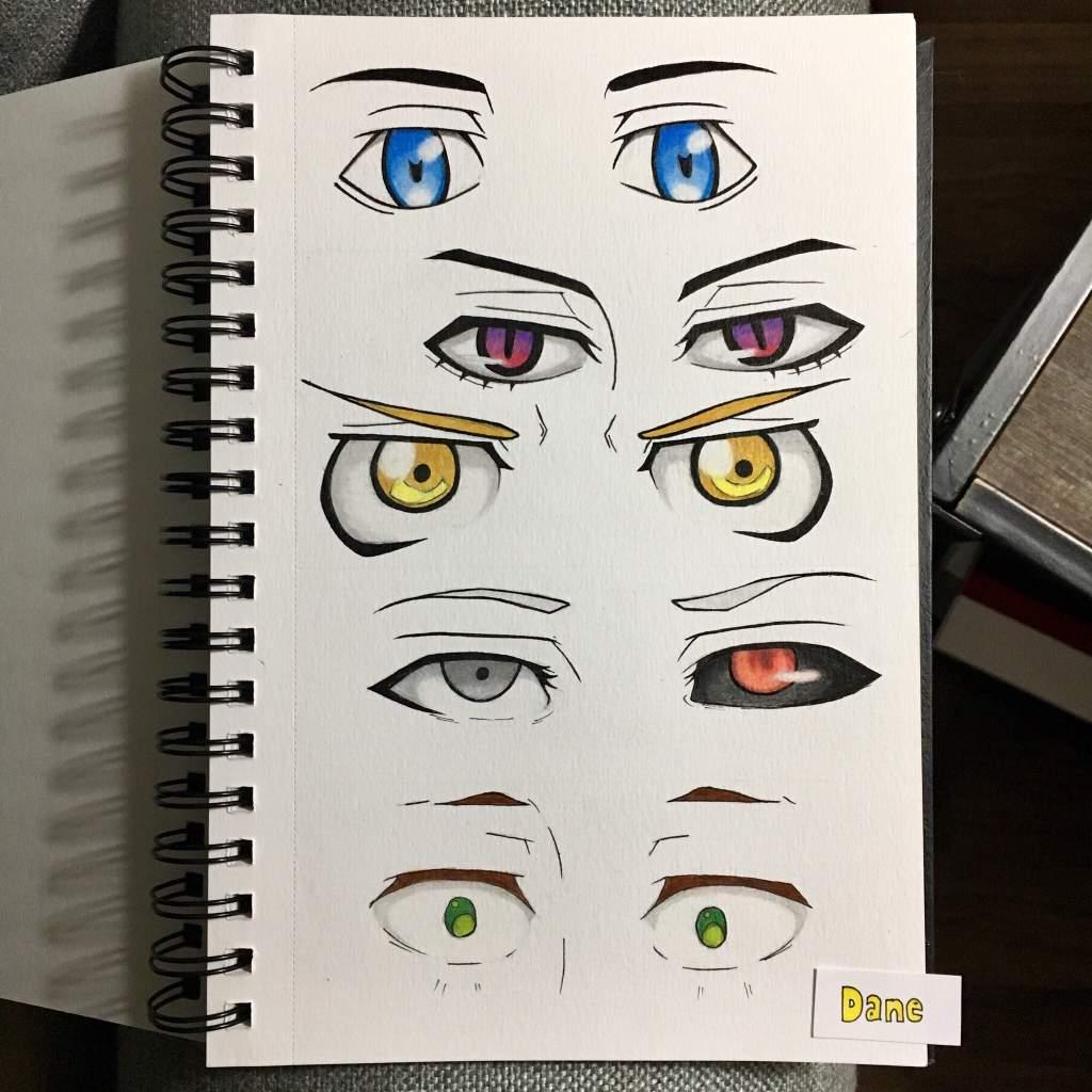 Male Anime Eyes Anime Amino