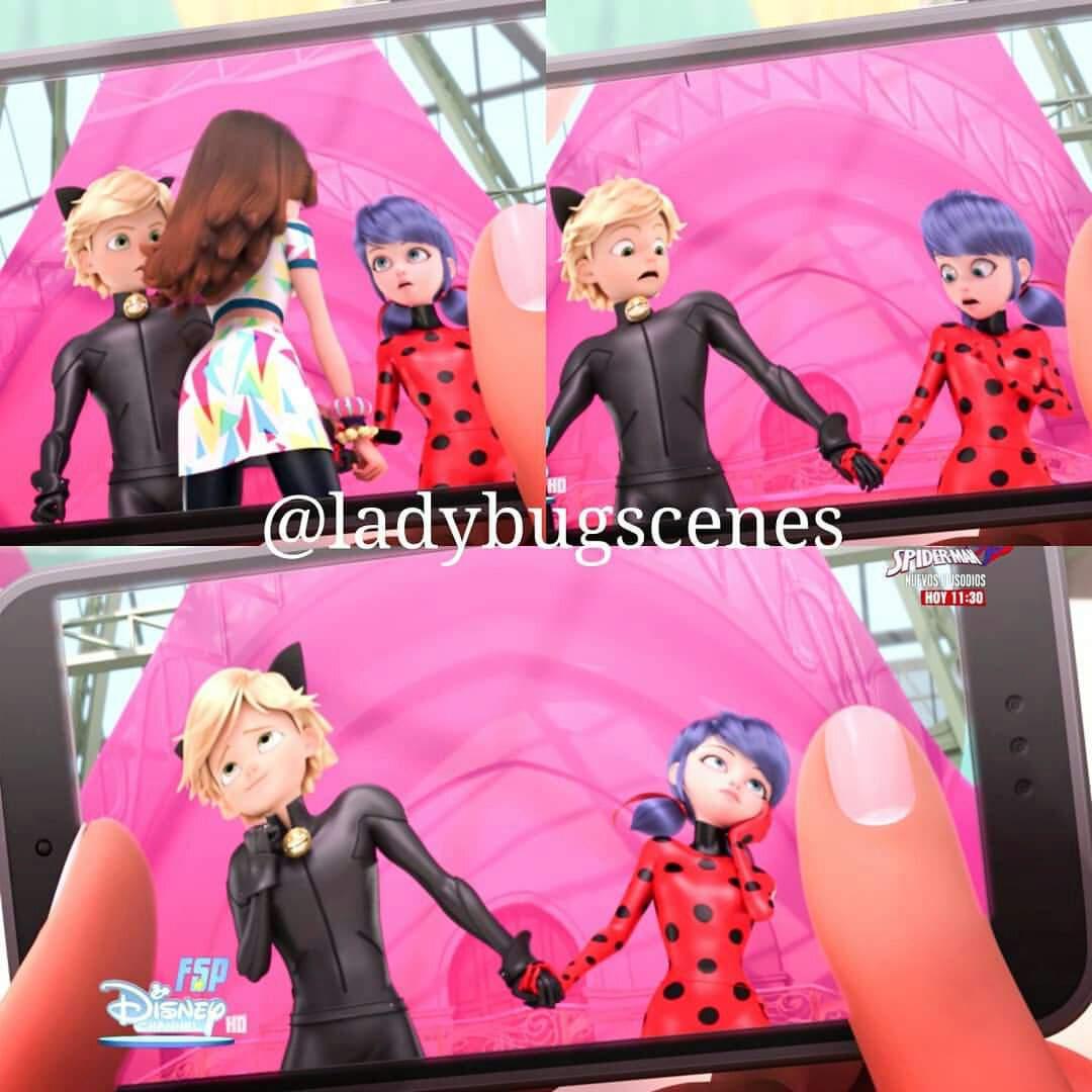 Miraculous Ladybug Frightningale scene | Miraculous Amino