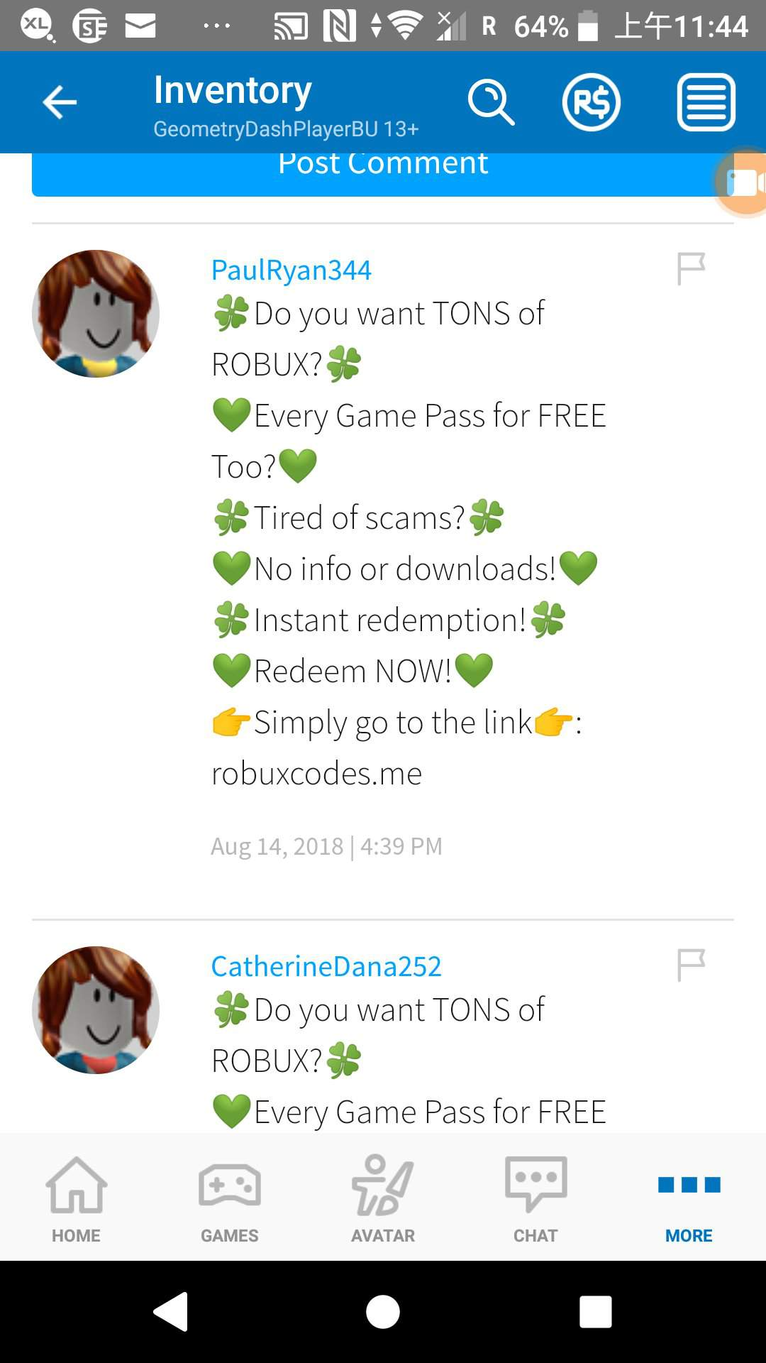 Avatar Robux Robux 2018 Roblox Today S Topic Scammers Part 1 Roblox Amino