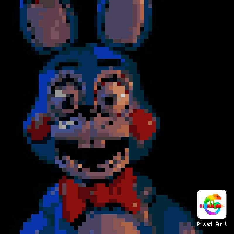 Pixel Art Do Toy Bonnie Five Nights At Freddys Pt Br Amino