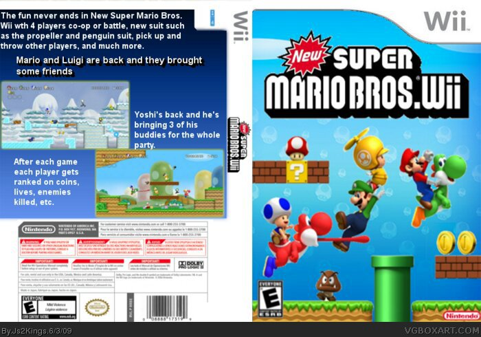 New Super Mario Bros Wii Review | Video Games Amino