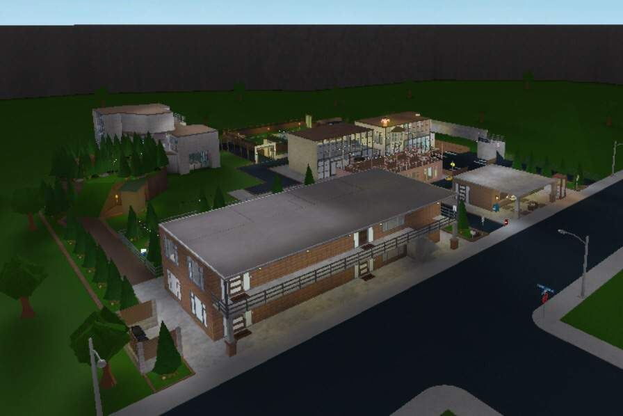Roblox Town Background