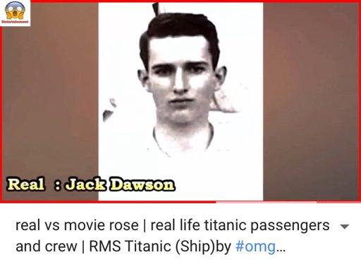 The Real Jack Dawson Wiki Titanic Amino
