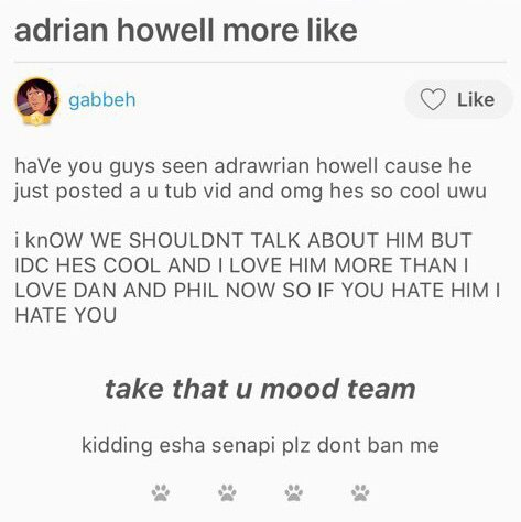 PSA Adrien Howell