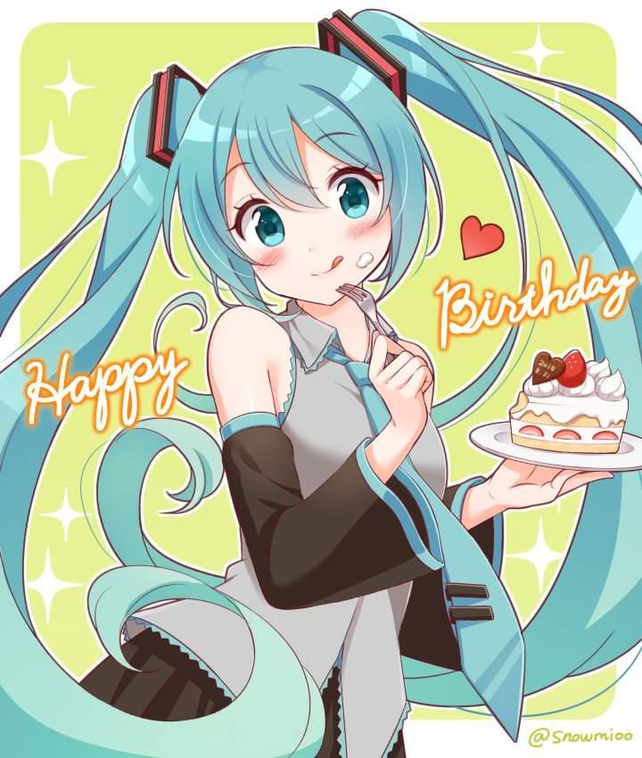Happy Birthday Hatsune Miku! | Anime Amino