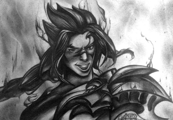 Kayn Drawing League Of Legends Official Amino