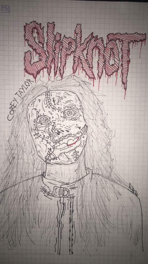 Corey Taylor Vocalista De Slipknot Con Su Mascara Del 2004