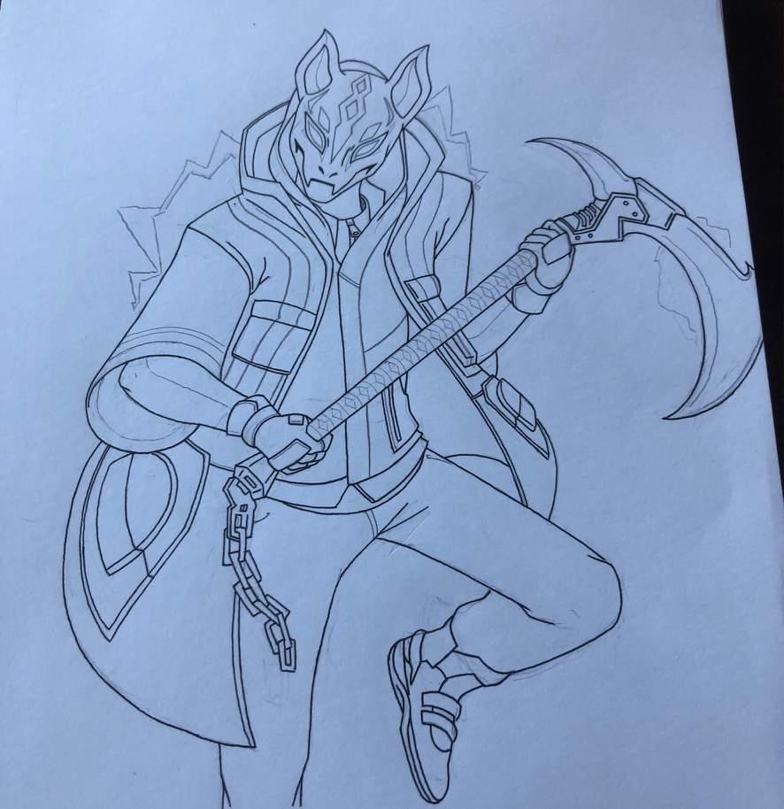 - all fortnite skins drawing