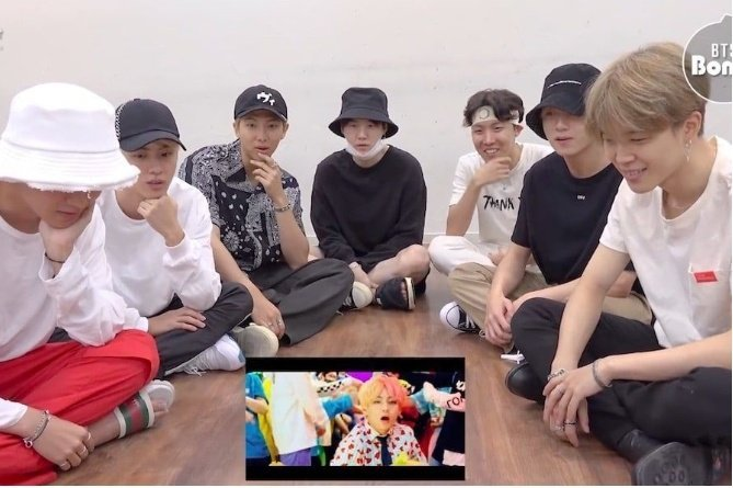 """BTS Is So Relatable As They React To Amazing """"IDOL"""" MV 