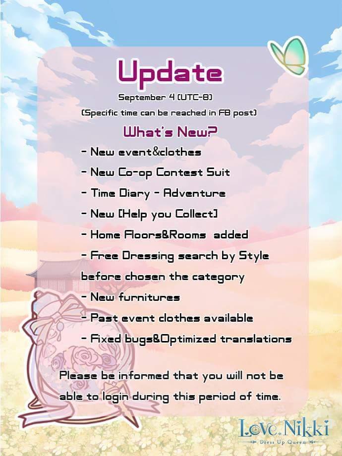 Love Nikki - Events/Update | Love Nikki Dress Up Queen Amino