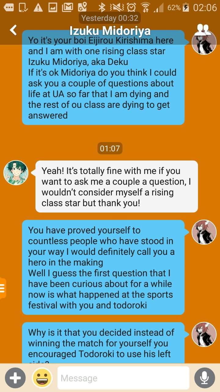 Interviewer Application #MHNInterviewerApp | My Hero