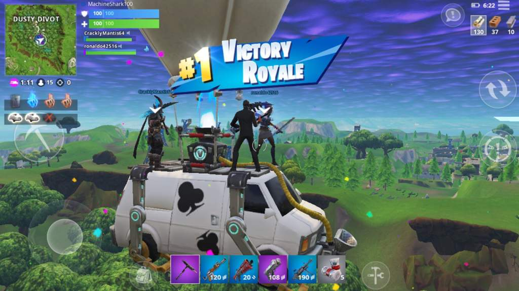 got a win in the getaway ltm today fortnite battle royale armory amino - fortnite getaway