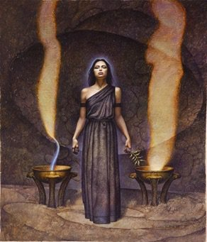 black dove priestesses of dodona exploring their origins the