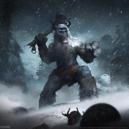 frost giant spell