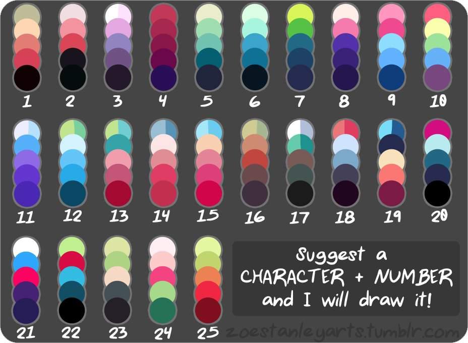 Palette Challenge | H T T Y D Amino