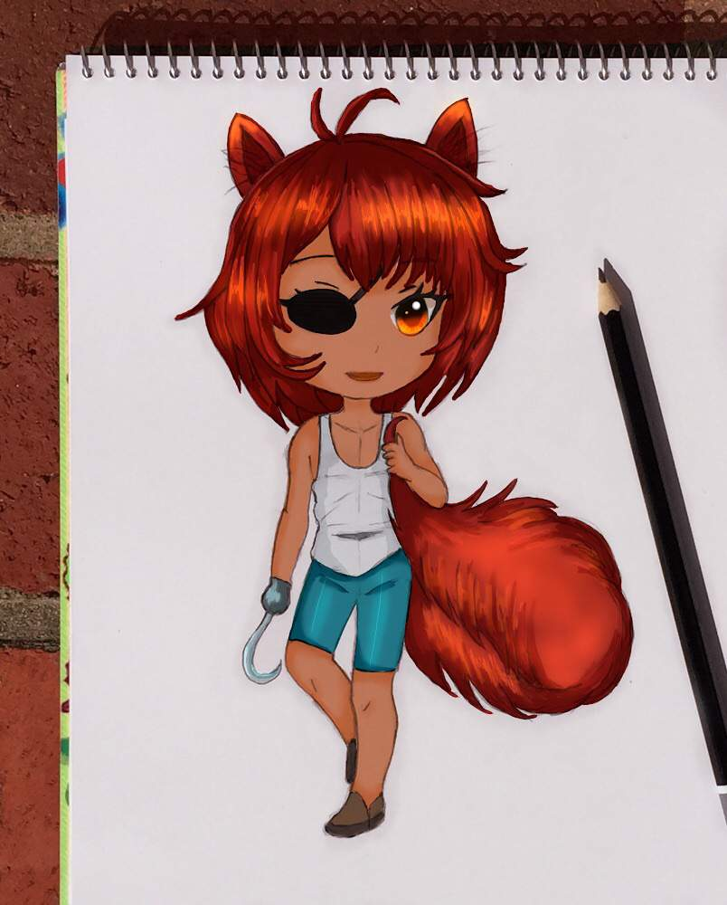 Fnaf Foxy Flying Pings Art Amino