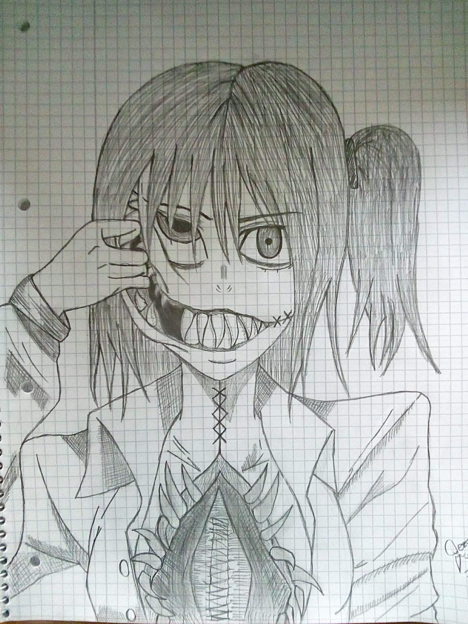 Another Horror Creepy Drawing Anime Amino