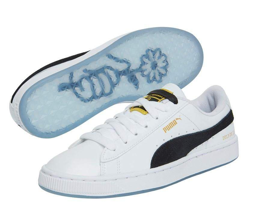 Did You Order the PUMA x BTS Basket Patent Sneakers