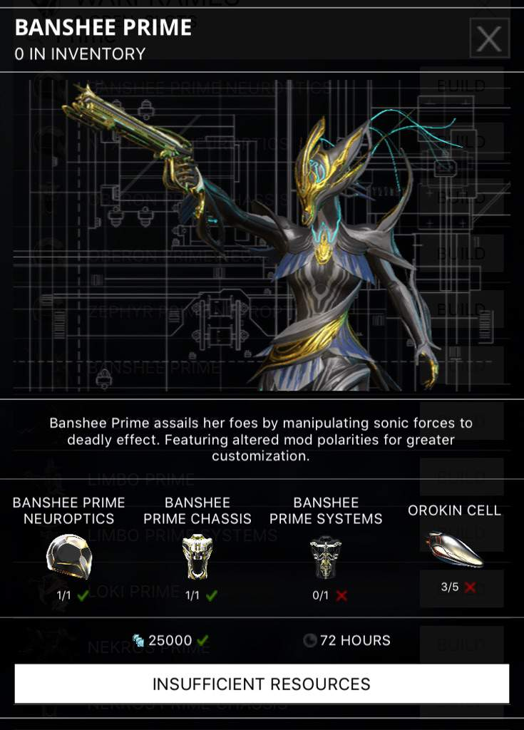 All I need are the systems (primed frames)   Warframe Amino