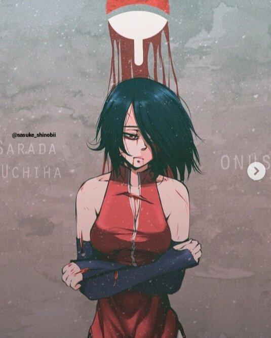Naruto Shippuden Sasuke Uchiha And Sarada Uchiha And Sakura Naruto