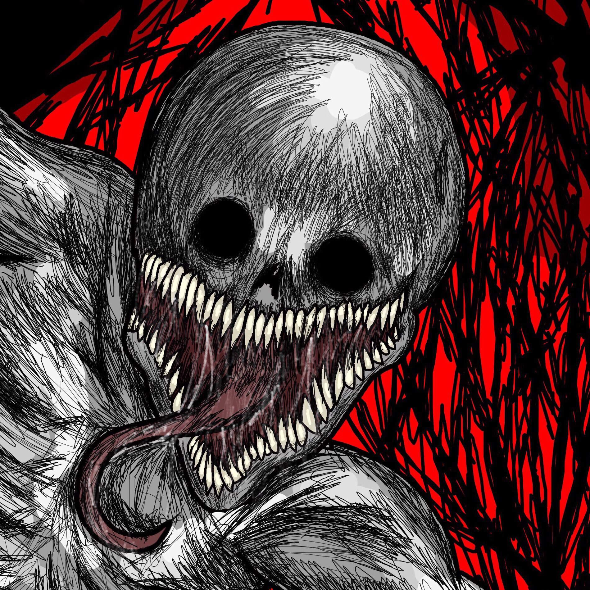 """His name is The Rake"" (Creepypasta Drawin"