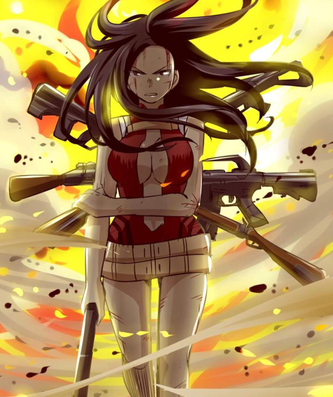 Momo S Best Girl Fight Me My Hero Academia Amino
