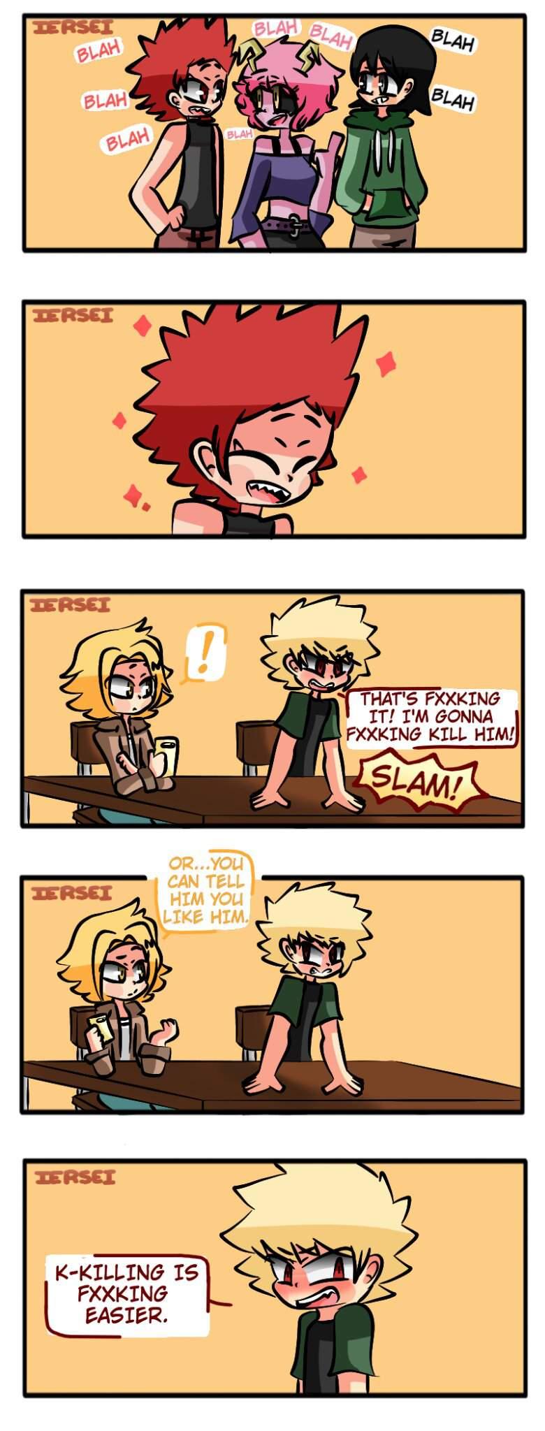 Kiribaku Comic My Hero Academia Amino
