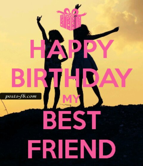 عيد ميلاد سعيد ل صديقتي
