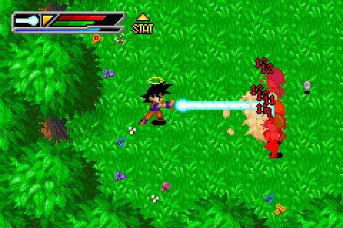 Dragon Ball Z: Buu's Fury (2004) by Webfoot Technologies GBA game