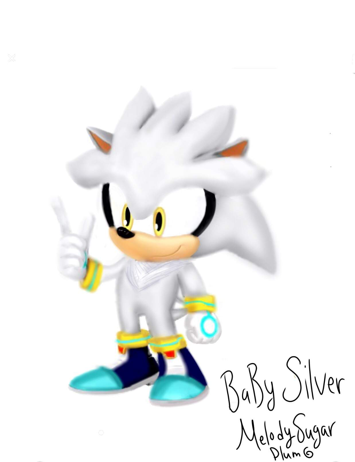Young Silver Sonic The Hedgehog Amino