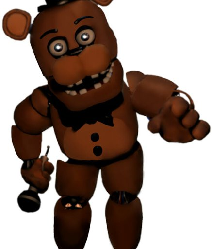 Five Nights At Freddy S Amino: Unwithered Withered Freddy (Lol)