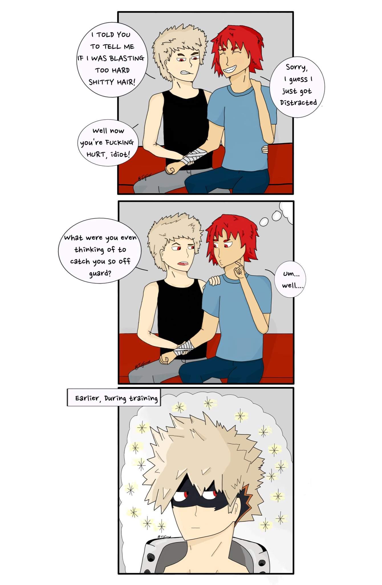 Kiribaku Sparkles Comic My Hero Academia Amino