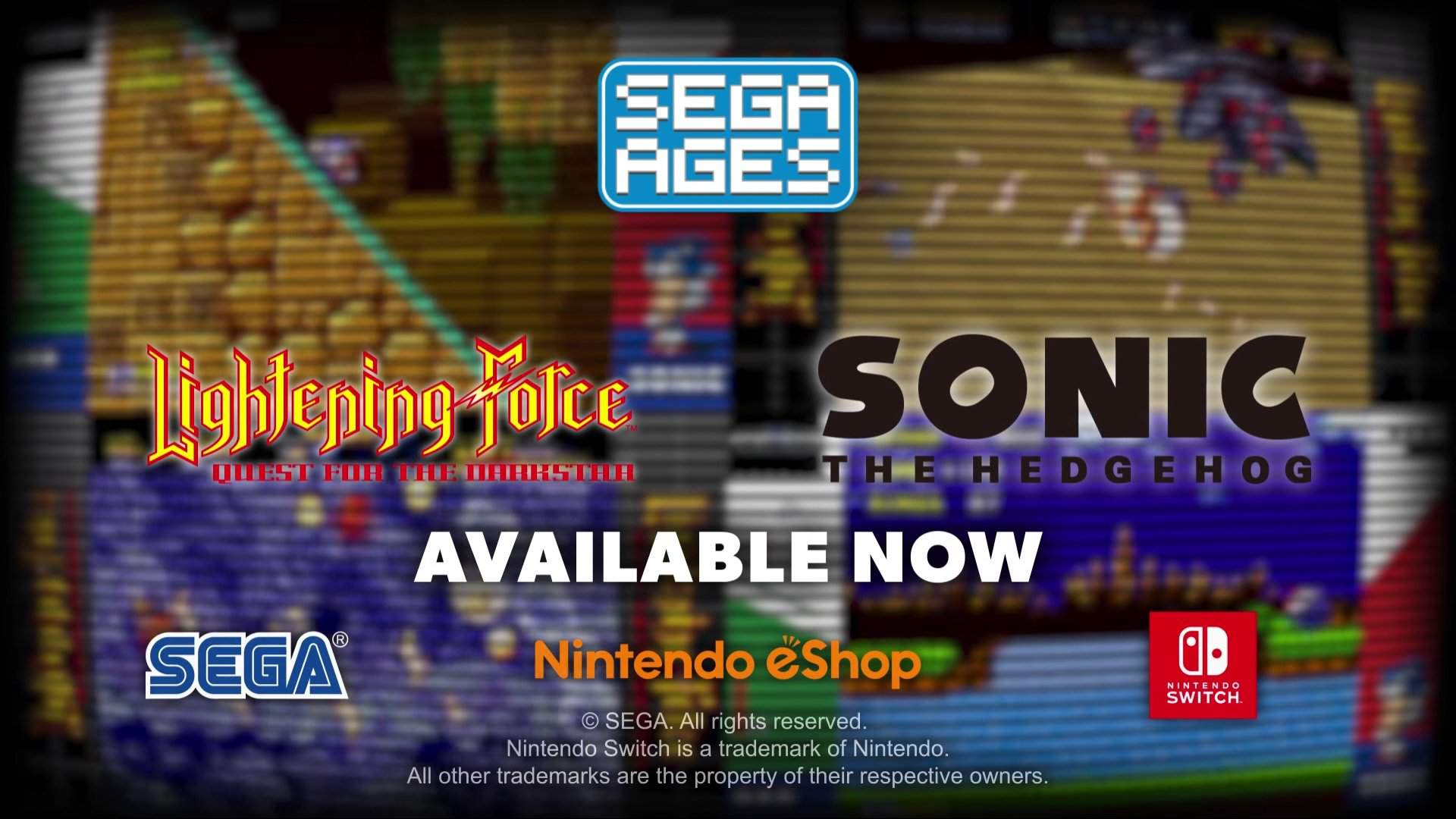 Sega Ages Sonic The Hedgehog And Lightening Force Quest For The Darkstar Out Now In The West Nintendo Switch Amino
